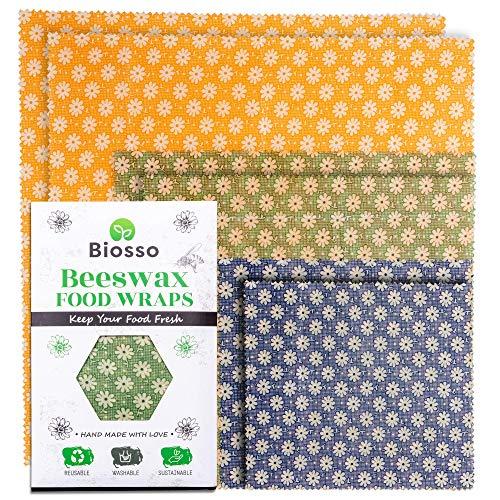 Biosso Premium Bienenwachstücher 6er Set