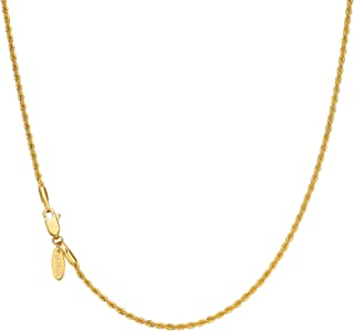 Diamond2Deal Lacquer Dipped Pink Rose with Gold-Plated Chain Necklace Size 20