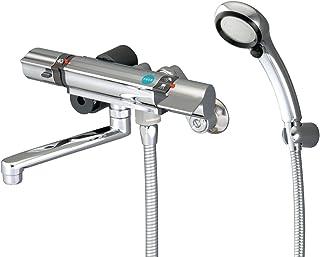 三荣水栓 混合水龙头 温控淋浴混合水龙头 Rainy Metallic/ 白金软管 的标准装备