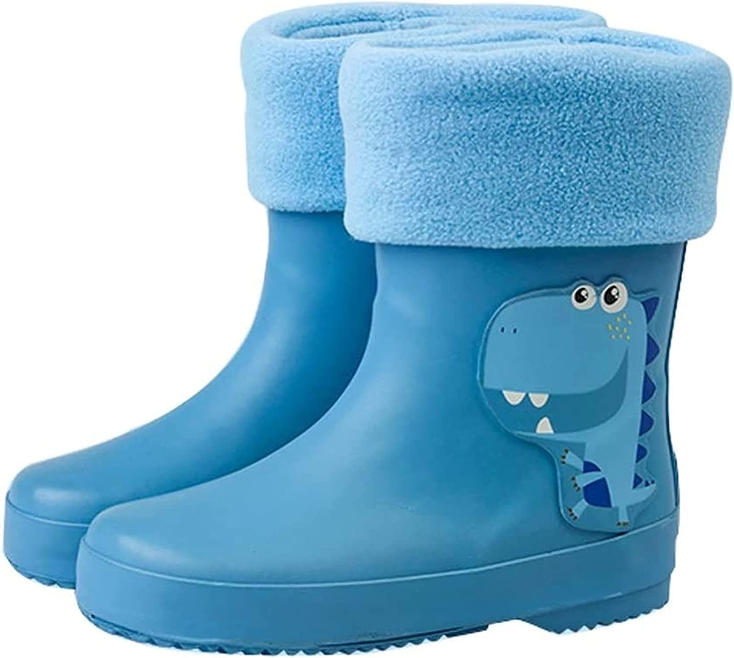 SYZHIWUJIA Rain Boots Fresno Mall Boys and Limited time for free shipping B Non-Slip Girls Lightweight