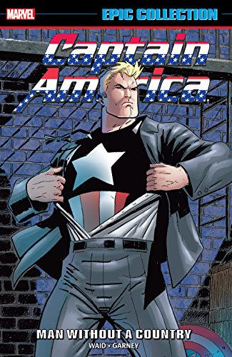 Captain America Epic Collection: Man Without A Country (Captain America (1968-1996)) (English Edition)