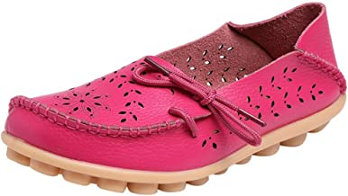 Flat Wedge Shoes Women Candy Color Hole Shoes Nurse Wedge Flat Shoes Casual Driving Shoes by Gyouanime
