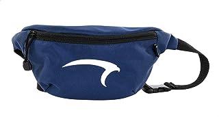 حقيبة خصر للجنسين بسوستة لأعلى بطبعة شعار أمامي مغاير من البوليستر من مينترا