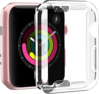 MARGOUN for Apple Watch 40mm Case Protective Cover 40mm for series SE 6 5 4 - clear