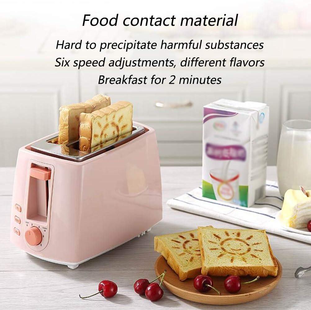 Steel Broodbakmachine Elektrische Broodrooster Cake Toast Sandwich Oven Grill 2 Slices Automatic ontbijt broodbakautomaat,2 3