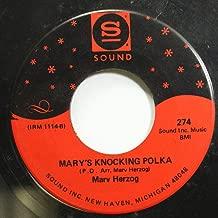 Marv Herzog 45 RPM Mary's KNocking Polka / Pony In The Meadow Waltz