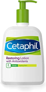 Cetaphil Restoring Lotion with Antioxidants for Aging Skin, 16 oz. Bottle