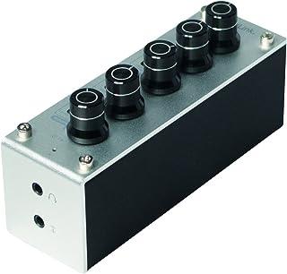 LogiLink UA0273 kompaktowy i przenośny wzmacniacz Tri-Tone-Equalizer i słuchawki, srebrny