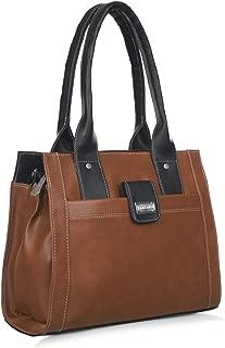 Right Choice Women's PU Handbag (642, Brown)