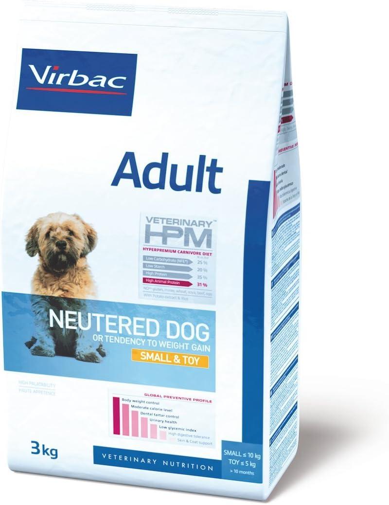 Veterinary Hpm Virbac Hpm Dog Adult Neutered Small Toy 3Kg Virbac 00340 3000 g