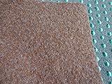 Kunstrasen (5€/m²) braun mit Noppen 500 x 400 cm