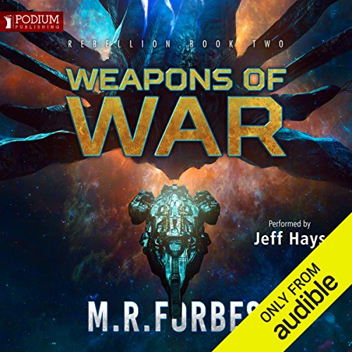 Weapons of War audiobook cover art