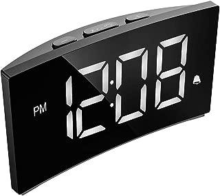 PICTEK Digital Alarm Clock, 5