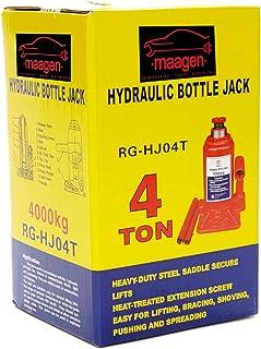 Maagen 4THJ 4 Ton Hydraulic Jack, Red