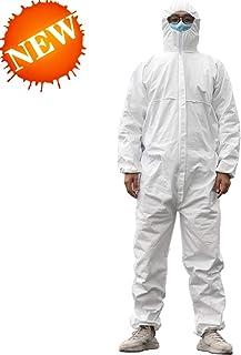 Tuta intera da lavoro nel complesso la polvere di amianto CHIMICA USA E GETTA BIANCO TIPO 5//6 o PP
