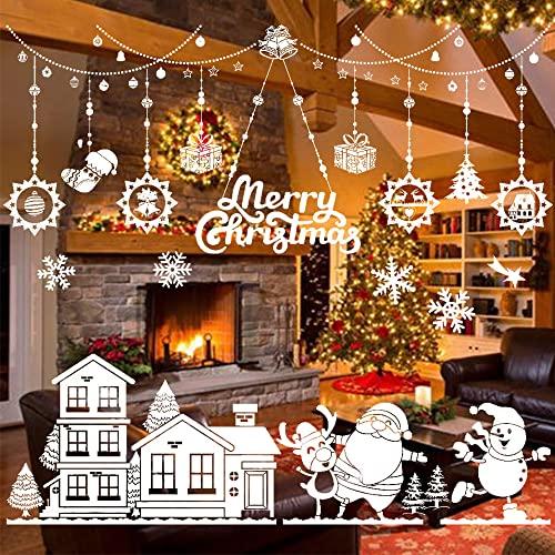 Graz Design - Adesivo per finestra, motivo natalizio, per finestra, autoadesivo, motivo natalizio