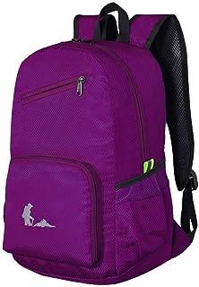 MYXMY Backpack Bag Skin Bag Outdoor Hiking Bag Men and Women Collapsible Ultra Light Backpack Lightweight Backpack 25L (Color : C)