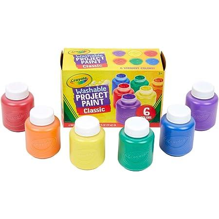 クレヨラ ボトル絵の具 6色セット 水で簡単に落とせる クラシック 541204 正規品