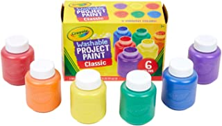 Crayola Washable Kids Paint, 6 Count, Kids At Home...