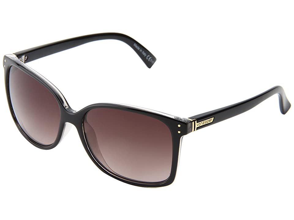 VonZipper Castaway (Black Crystal/Gradient) Sport Sunglasses