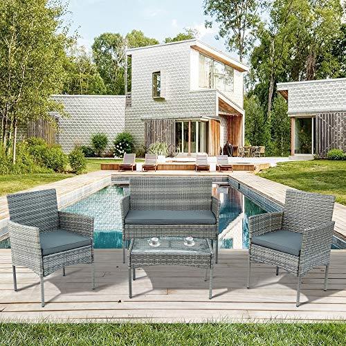 LIFE CARVER -   Garten Lounge Set