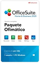 OfficeSuite Home & Business 2020 - licencia completa - Compatible con Microsoft® Office Word, Excel, PowerPoint® para PC Windows 10 8.1 8 7 (1PC/1Usuario)