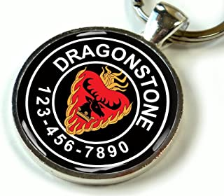 Custom Thrones Baratheon Dragonstone flaming