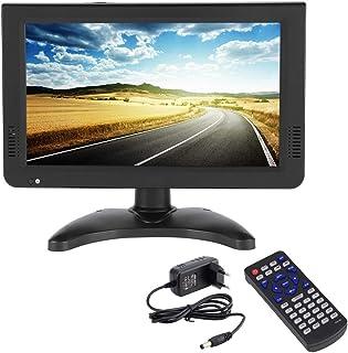 10 Inch HD Portable TV Digital and Analog LED TV Multimedia Player Support TF Card/USB/Audio Car TV DVB-T DVB-T2 for Car, ...