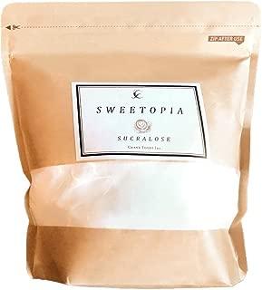 CraneFoods ( クレインフーズ ) スイートピア スクラロース [ カロリーゼロ 糖類ゼロ ] 800g ( 砂糖の3倍の甘さ ) ロカボダイエット エリスリトール