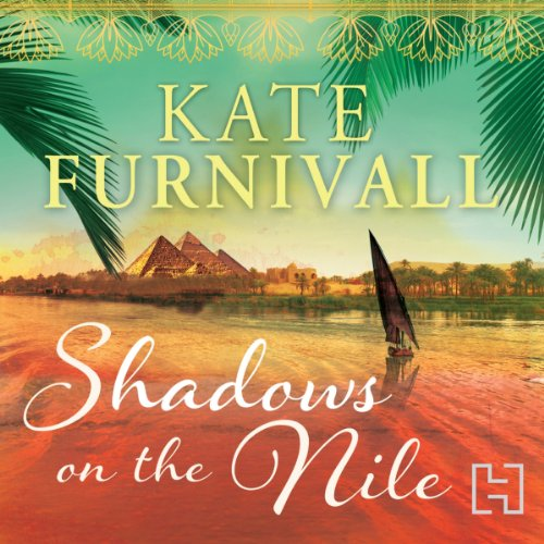 Shadows on the Nile audiobook cover art