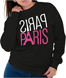 Paris City of Love France Beautiful Tower Crewneck Sweatshirt