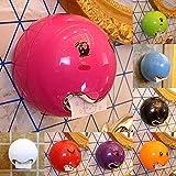 UWOOD - Dispensador de pañuelos con forma de emoticono impermeable montado en la pared con adhesivo facial para inodoro de baño, tornillo fijo (naranja)