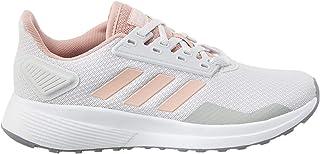 Adidas Women's Duramo 9 Dash Grey/Pink Spirit/FTWR White Running Shoes- 6 UK (EG2938)