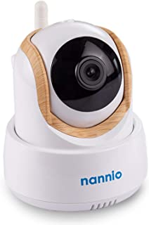 Nannio Comfy Extra Single Baby Camera, Clear Night Vision & Temp Sensor & Smart Crying Alert (AU Plug)…