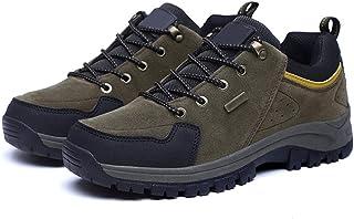 MFF Chaussures de randonnée en Plein air pour Hommes et Femmes, Sports de Loisirs, Chaussures de Couple de randonnée,Green-37