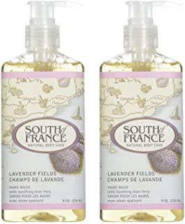 South Of France Liquid Hand Soap Lavender Fields 8 Oz (Pack of 2)