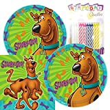 Lobyn Value Pack Scooby Doo Party Plates and Napkins Serves 16 With...