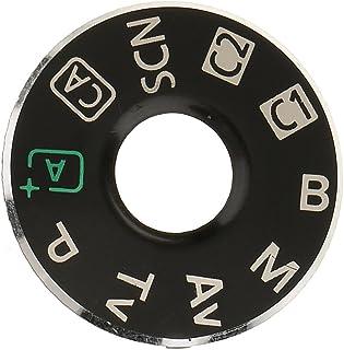 Cámara Modo Dial Placa Interfaz Tapa Botón Reparación Pieza Accesorios para EOS - Negro-6d