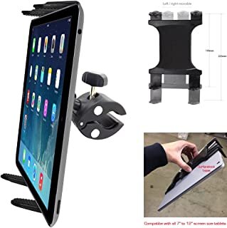 ChargerCity XT Boat Helm Spin Bike Tablet Mount with Universal Tablet Cradle Holder for Apple iPad Pro, iPad Air, iPad Mini, Samsung Galaxy Tab S, Surface Pro Book & All Other 7