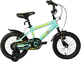 """FIREFOX Skurrerz 14T Kids Cycle I 9"""" Frame I Free Training Wheel I deal For : 3-5 Years I Light weight Frame"""
