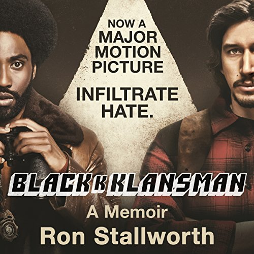 Black Klansman audiobook cover art