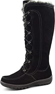 Comfy Moda Women's Fur Lined Insulated Winter Boots Warsaw