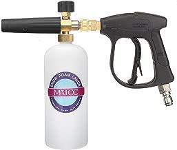 MATCC Foam Wash Gun 3000 PSI High Pressure Washer Jet Snow Foam Lance Foam Cannon Foam Blaster with 3/8