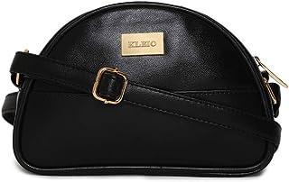 KLEIO Beautiful D Shape Light Crossbody Sling Hand bag For Women Girls Ladies