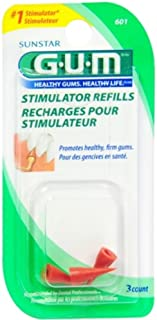 Best GUM Stimulator Refills, 3 Count (Pack of 2) Review