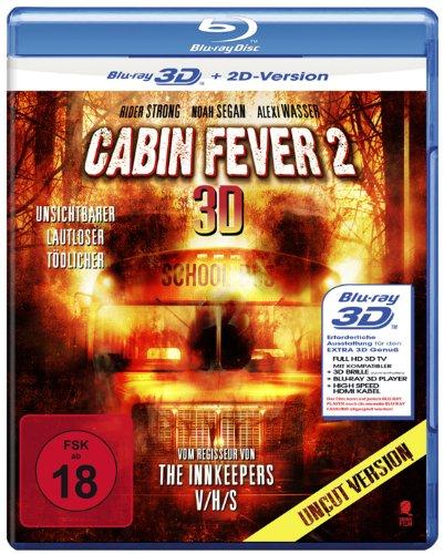 Cabin Fever 2 (Uncut) [3D Blu-ray + 2D Version]