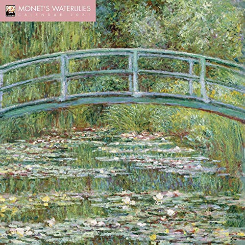 Monet's Waterlilies Wall Calendar 2021 (Art Calendar)