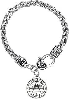 Talisman Secret Seal of Solomon Pentacle Wiccan Bracelet Jewelry