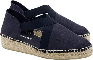 2 Espadrilles from Barcelona - Sandals Shoes Handmade in Spain - Espadrilles Heel Irene