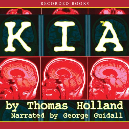 K.I.A. audiobook cover art